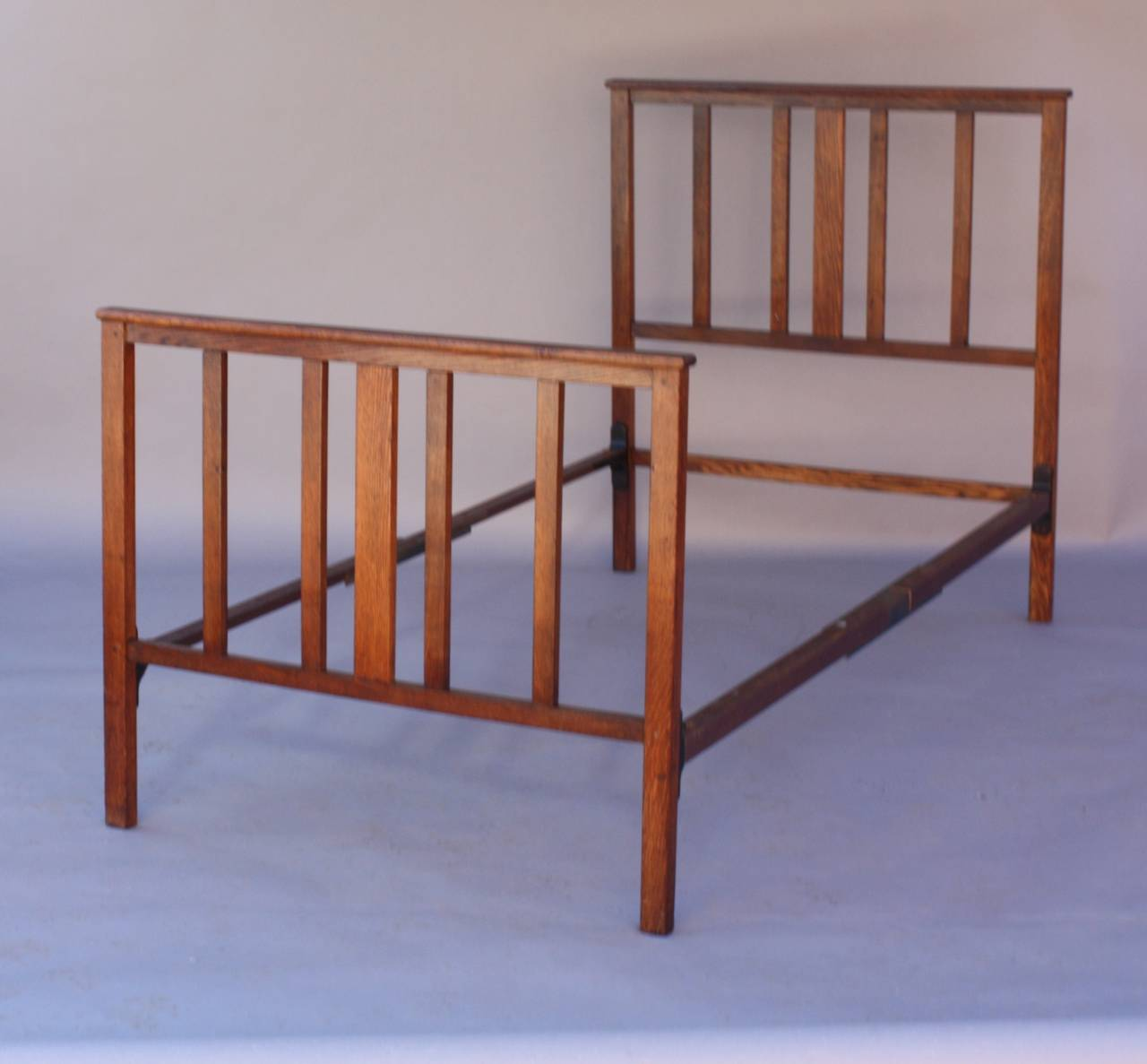 Circa 1910 Antique Arts And Crafts Bed For Sale At 1stdibs
