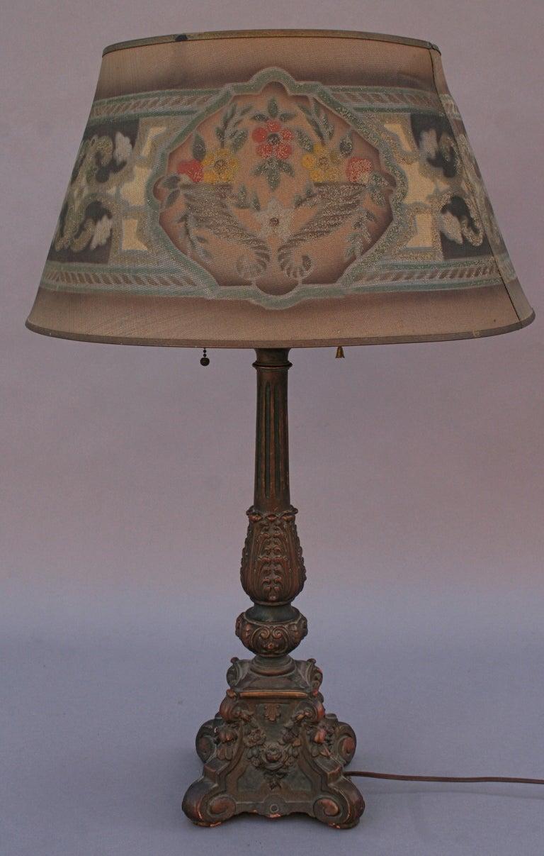 Tall 1920 S Table Lamp At 1stdibs