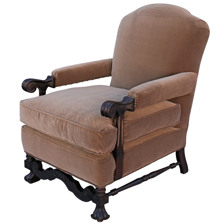 1920 S Comfortable Armchair At 1stdibs