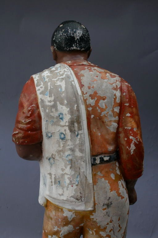 1920 S Concrete Mexican Statue Of Man In Sombrero At 1stdibs