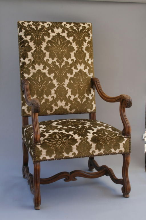Large Renaissance Revival Chair At 1stdibs