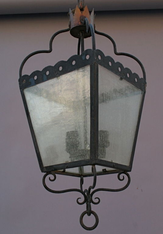 Classic Spanish Revival Lantern At 1stdibs