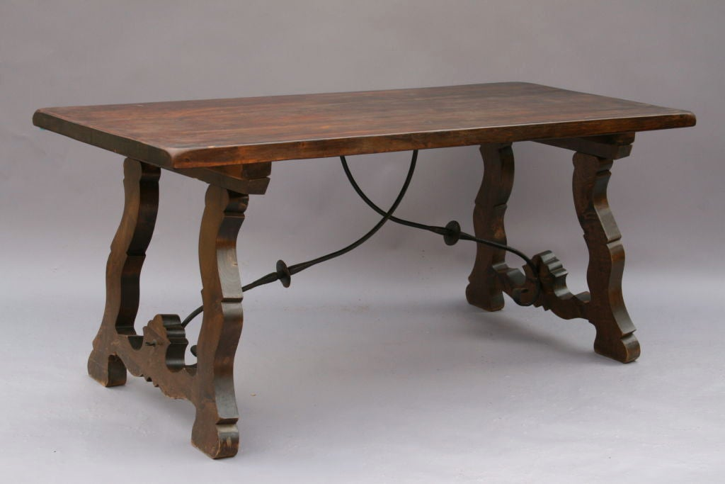 1920 S Spanish Revival Dining Table At 1stdibs