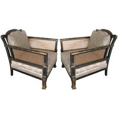 Pair of Chinoiserie Arm Chairs