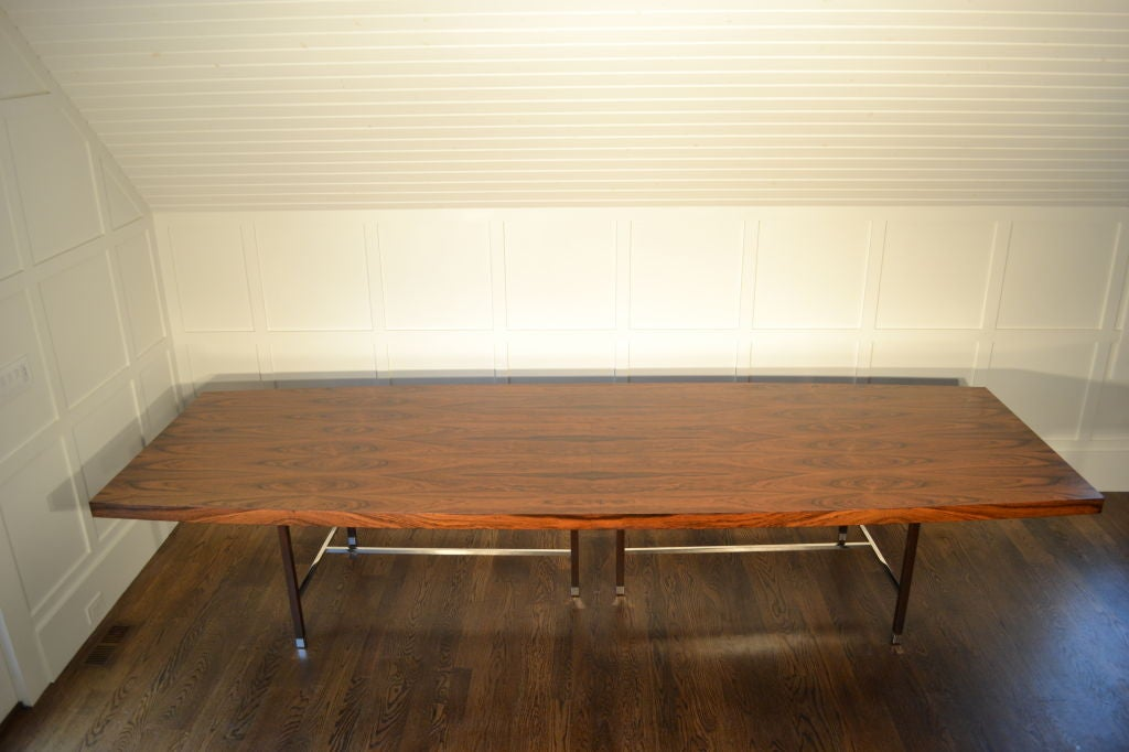 12 foot probber rosewood dining table at 1stdibs for 9 foot dining room table
