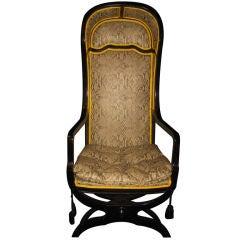 Unique Antique French Louis XV Style Armchair
