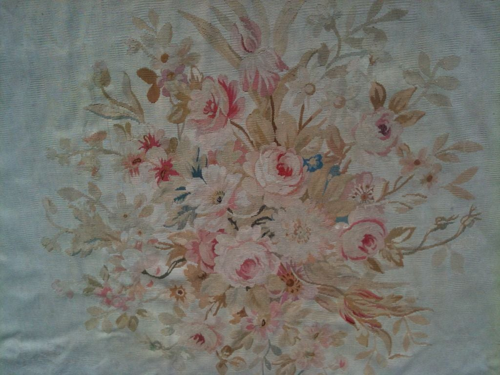 Exquisite Antique French Aubusson Carpet image 3