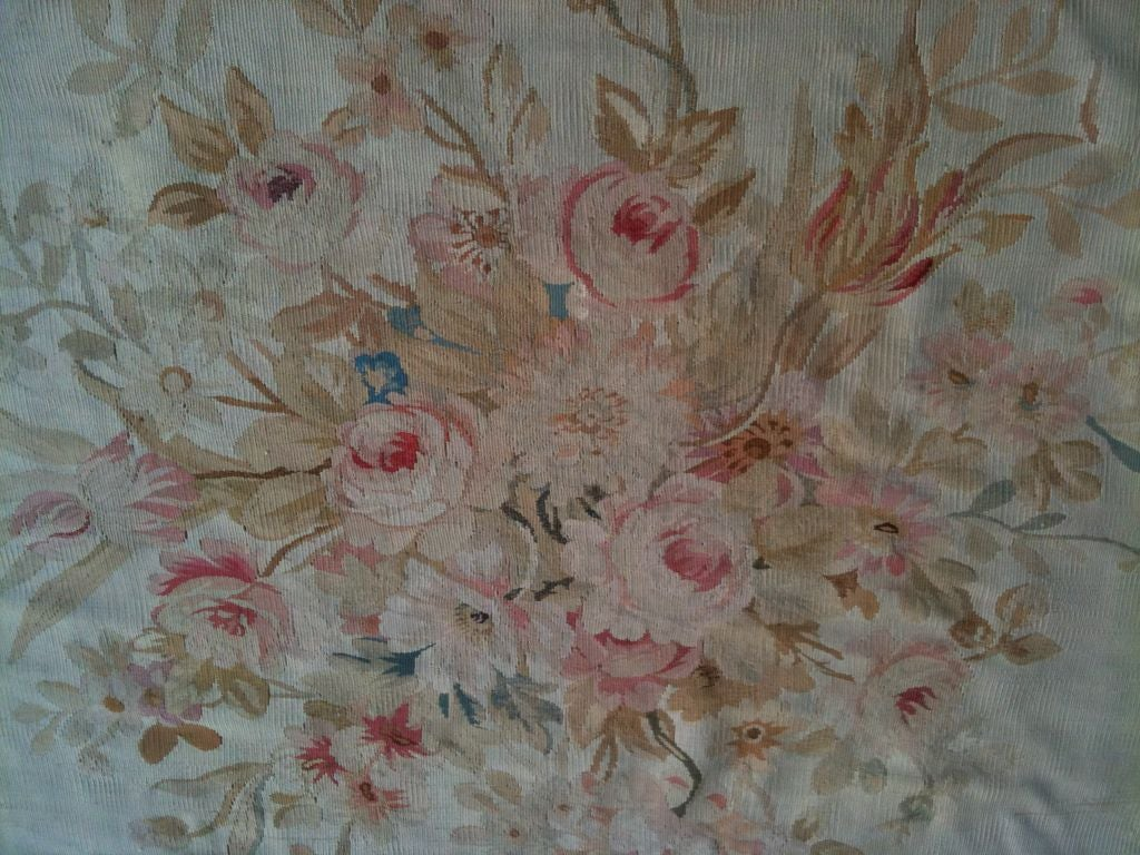 Exquisite Antique French Aubusson Carpet image 4
