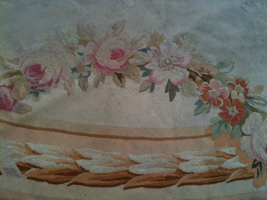 Exquisite Antique French Aubusson Carpet image 6