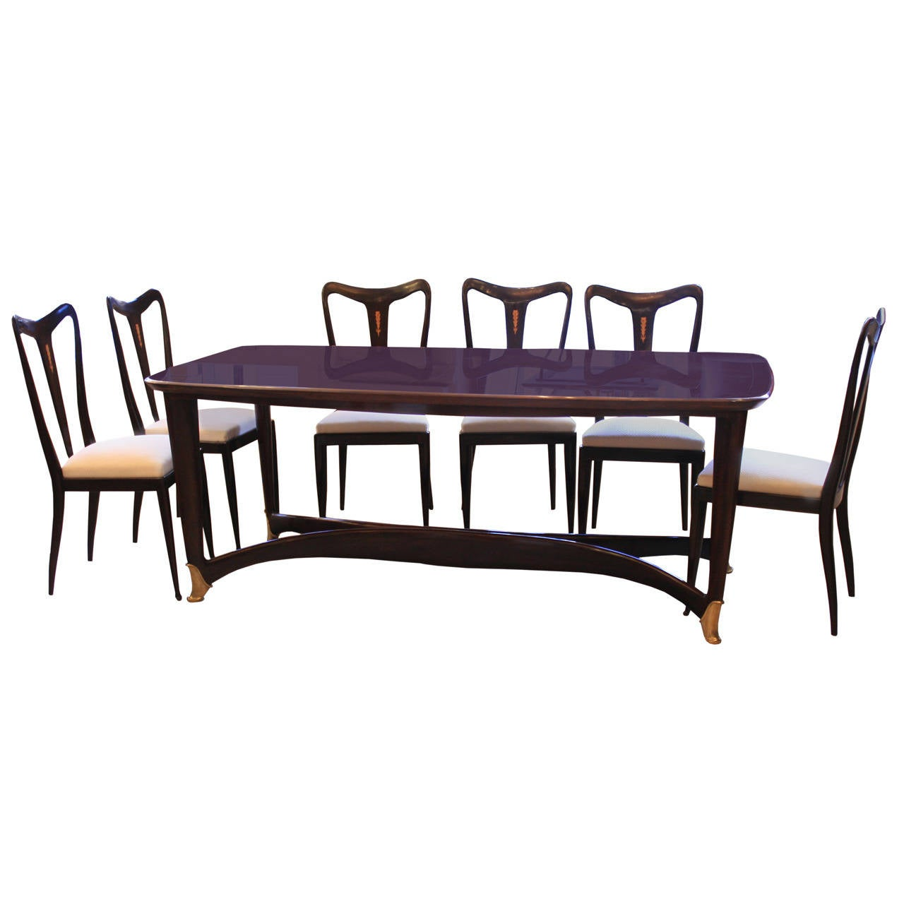 Dining Table with Six Matching Chairs at 1stdibs : 1556952l from 1stdibs.com size 1280 x 1280 jpeg 73kB