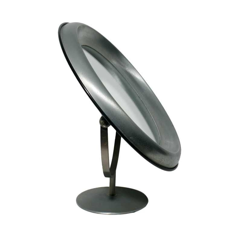 oblong hair styles a modernist italian table top mirror at 1stdibs 7170