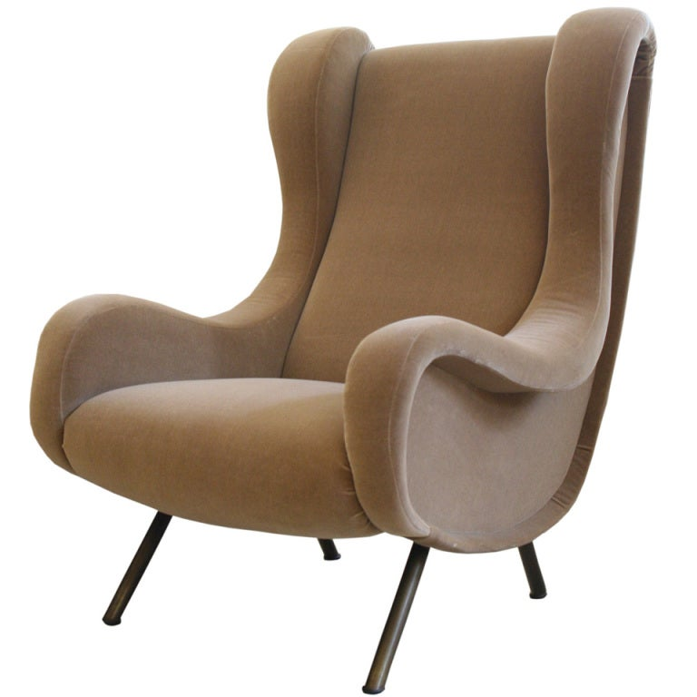 oblong hair styles senior chair by marco zanuso at 1stdibs 7170