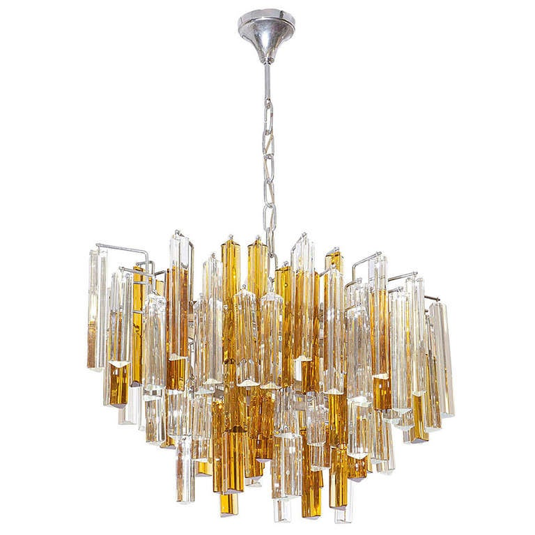 oblong hair styles oval shaded italian design ceiling light at 1stdibs 7170