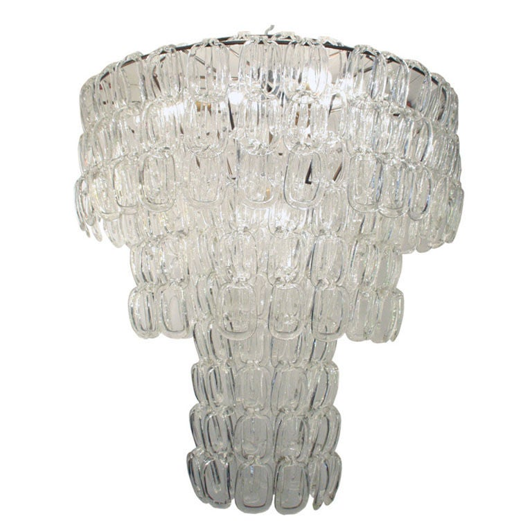 oblong hair styles an impressive large vistosi quot hooks quot ceiling light at 1stdibs 7170