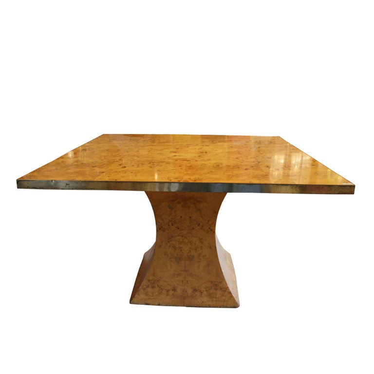 1950 39 s italian maple wood dining table at 1stdibs for Maple dining room table