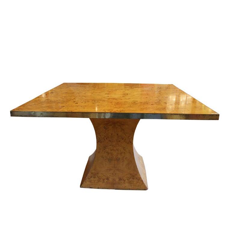 1950 S Wood Furniture ~ S italian maple wood dining table at stdibs
