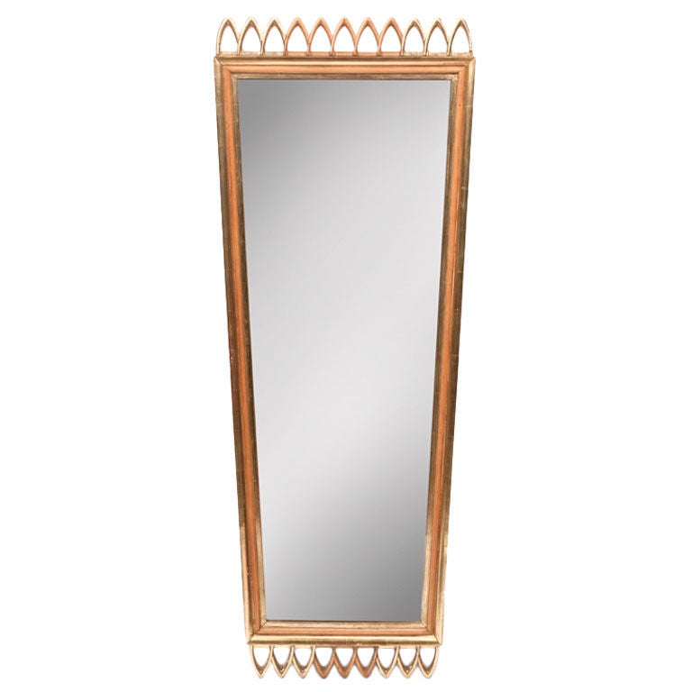oblong hair styles 1940s osvaldo borsani mirror at 1stdibs 7170