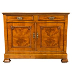 French Two-Door Fruitwood Buffet