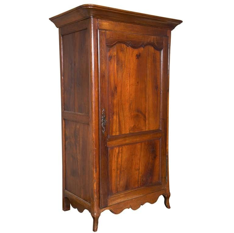 French Walnut Bonnetiere / Armoire