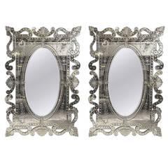 Monumental Venetian Mirror