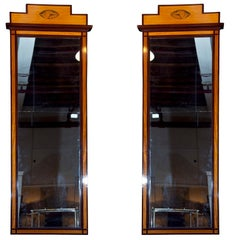 Pair of Antique Pier Mirrors
