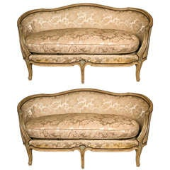 french rococo style giltwood canape sofa for sale at 1stdibs. Black Bedroom Furniture Sets. Home Design Ideas