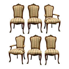 Louis XV Dining Room Chairs - 75 For Sale at 1stdibs