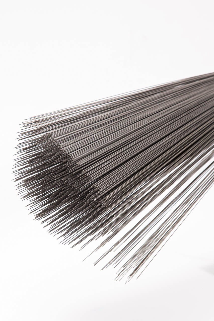 Silvered Val Bertoia Relaxing Spray Sculpture, 2014 For Sale