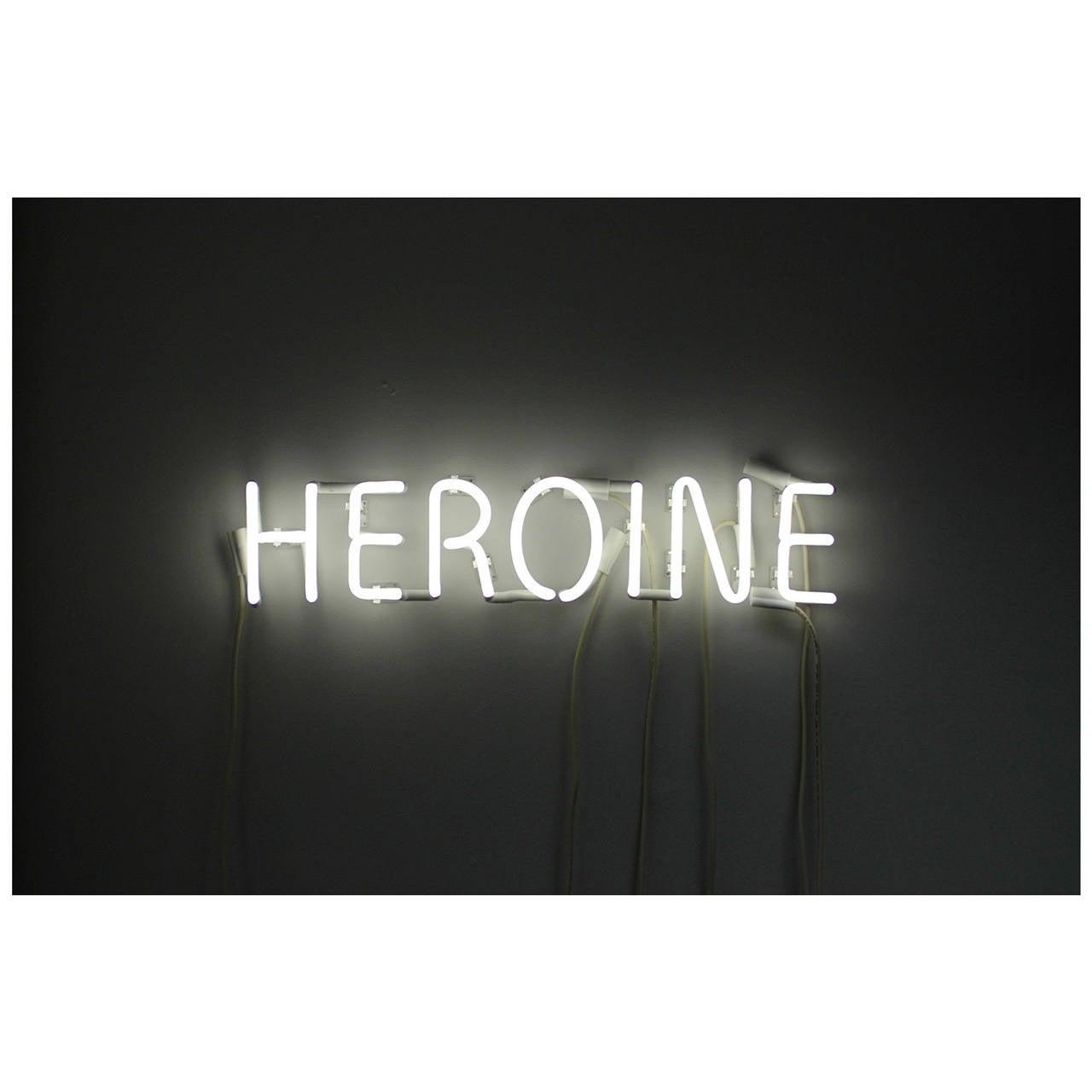 Peter Buchman Heroine Neon At 1stdibs