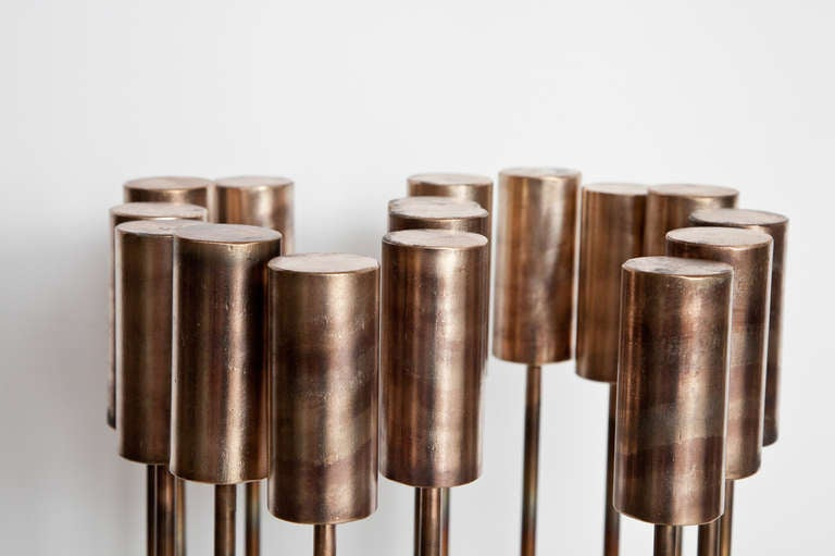 "American Val Bertoia ""S for Sound Sculpture"", Sonambient Series, 2014   For Sale"