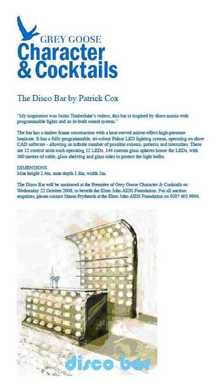 Contemporary Patrick Cox : Disco Bar