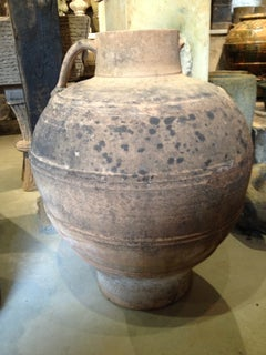 Large Spanish Terracotta Amphora
