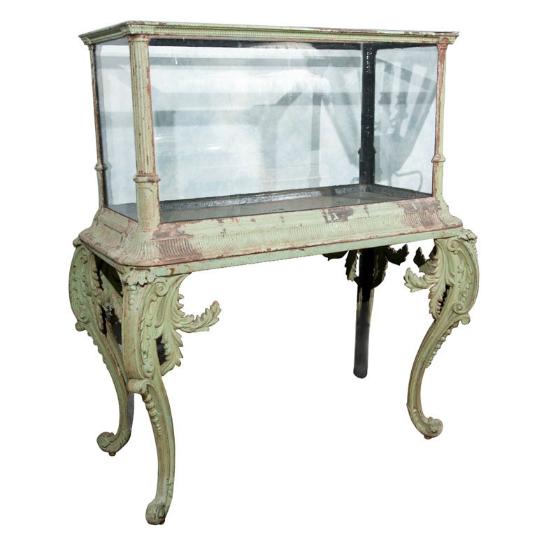 Rare Fiske Aquarium On Stand Signed And Dated At 1stdibs