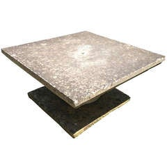 Large English Stone Coffee Table