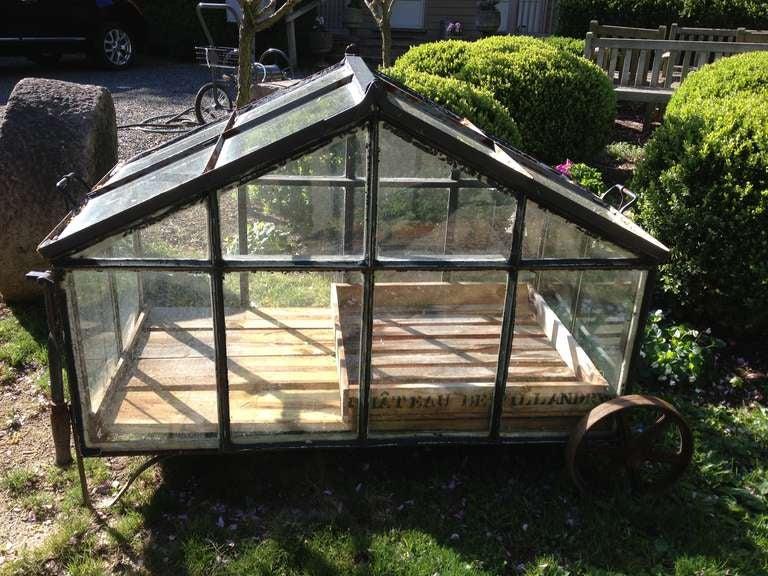 Large Portable Greenhouse : Large portable greenhouse cart at stdibs