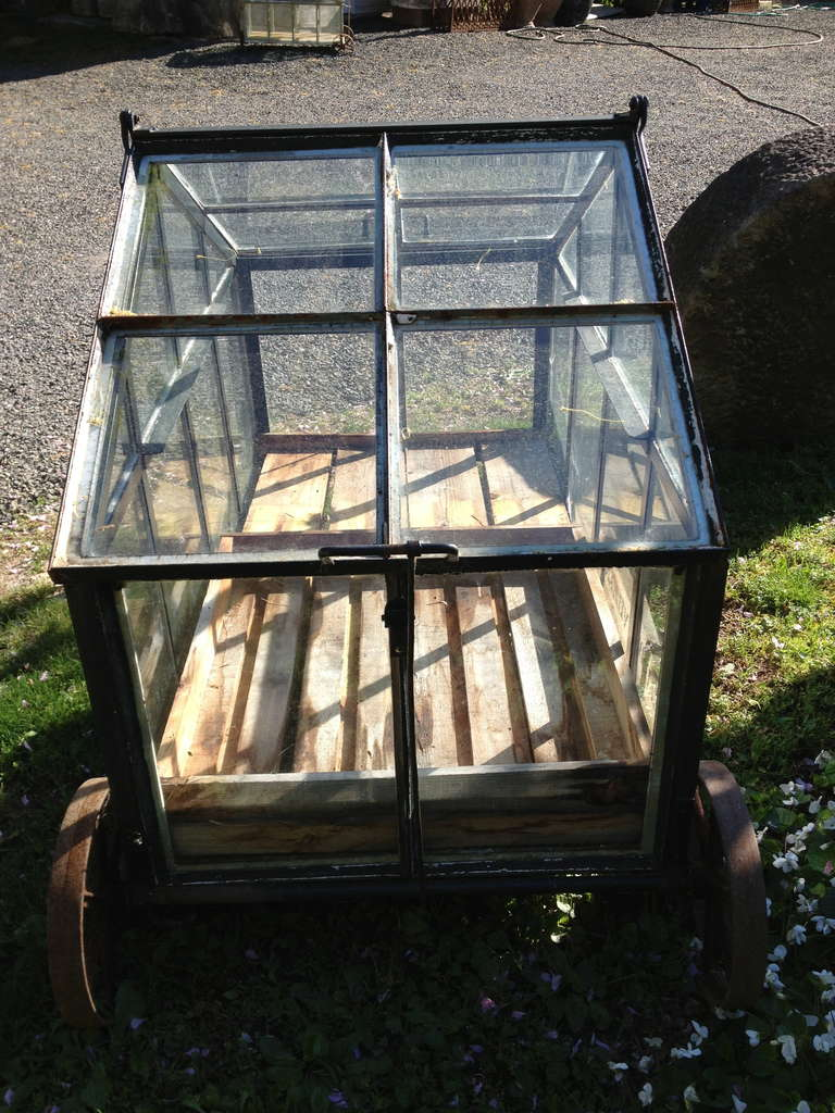Large Portable Greenhouse Cart At 1stdibs