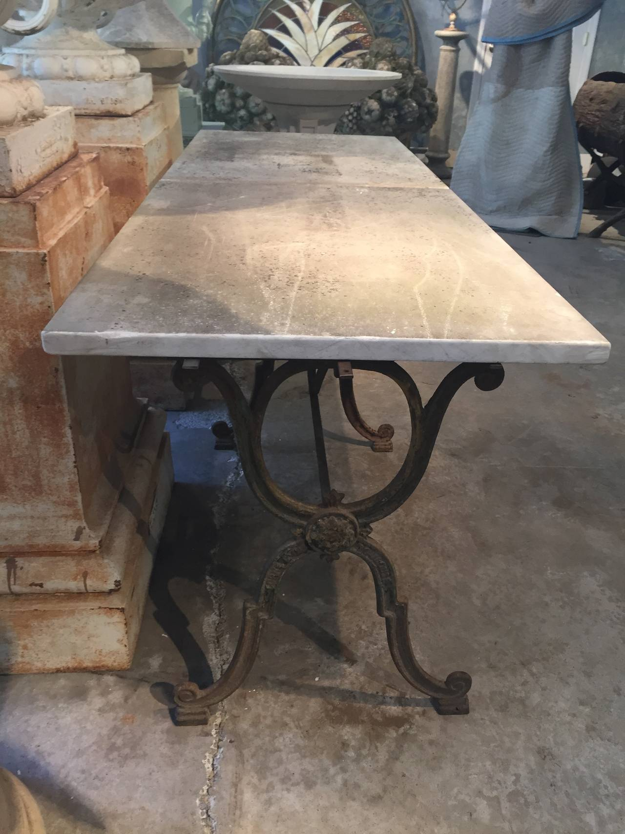 This Table Is So Chic Made And Signed By Colne Et Cie From Toulouse In