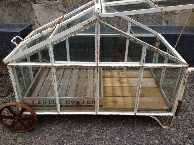 Edwardian Style Portable Greenhouse Cart At 1stdibs