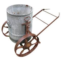 Wonderful Original Iron and Zinc English Water Barrow