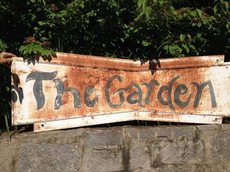 Whimsical Garden Sign 2