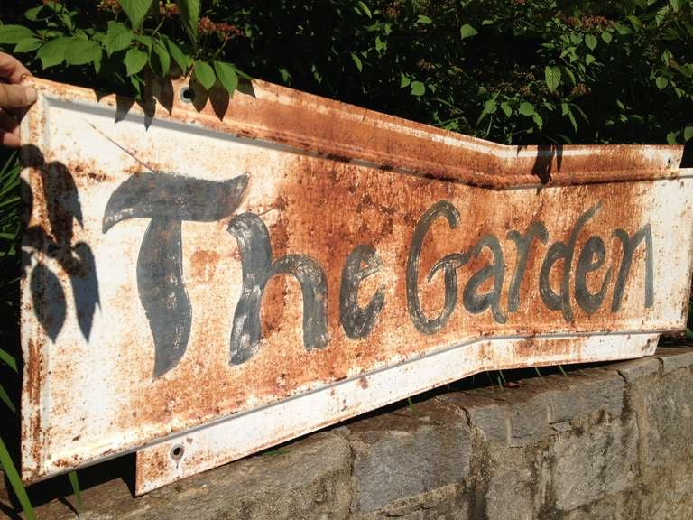 Whimsical Garden Sign 3