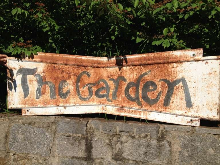 Whimsical Garden Sign 4