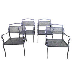 Four Paul Follet Style Chairs