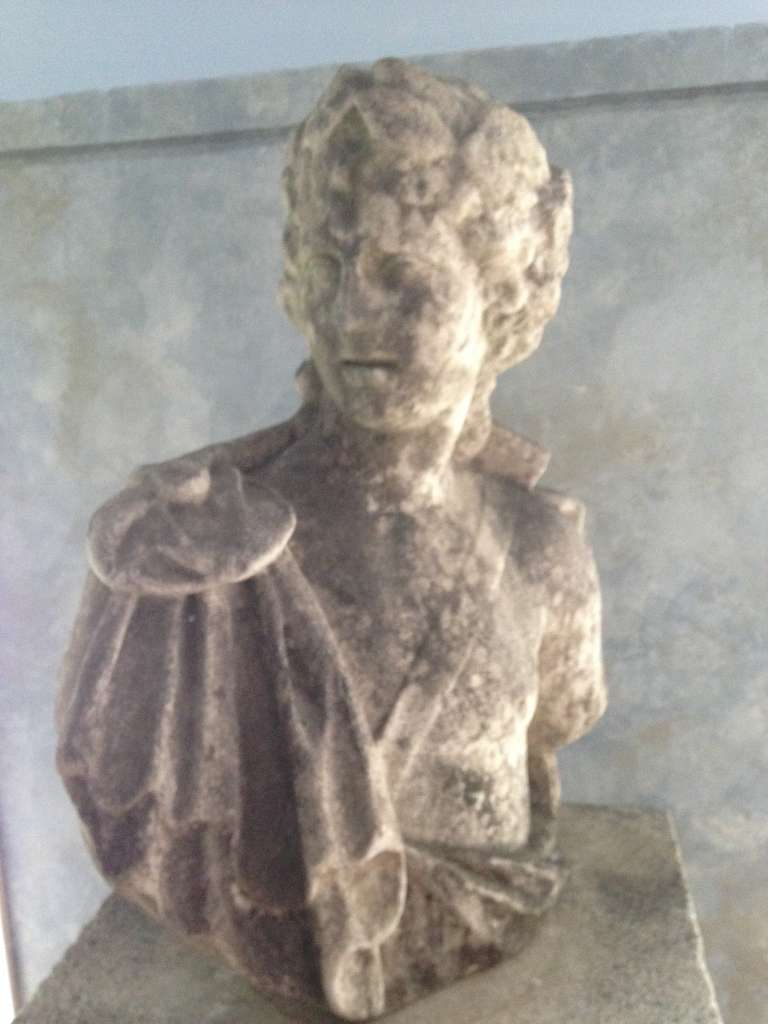18th Century and Earlier Stunning 18th Century Lifesize Marble Bust of Apollo For Sale