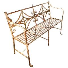 Period Regency Bench