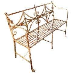 Period Regency Bench