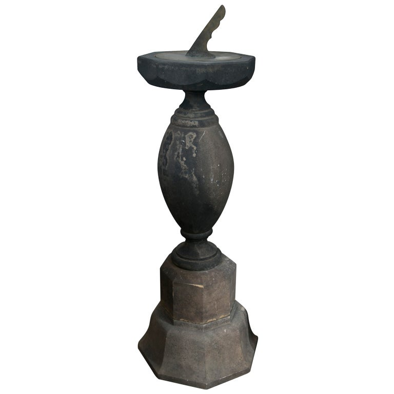 Period English 18th Century Stone Sundial