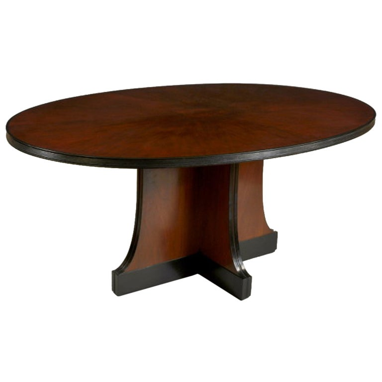Art Deco Style Dining Table At 1stdibs