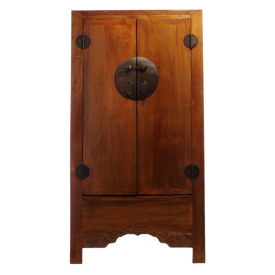 Large Antique Chinese Armoire at 1stdibs