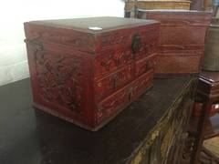 Antique Chinese Jewelry Box